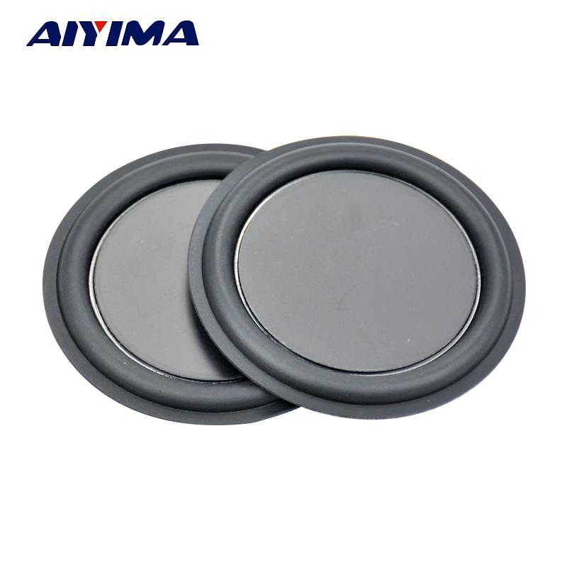 Aiyima 2pcs 3inch 75mm strengthen bass Speaker membrane vibration plate vibrating diaphragm