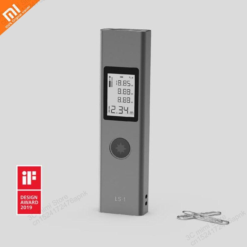 Xiaomi portátil láser de alta precisión range finder láser electrónica gobernante