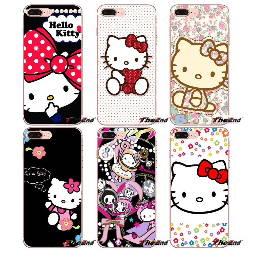 Kawaii Hello Kitty Pattern Cell Phone Cover For Samsung