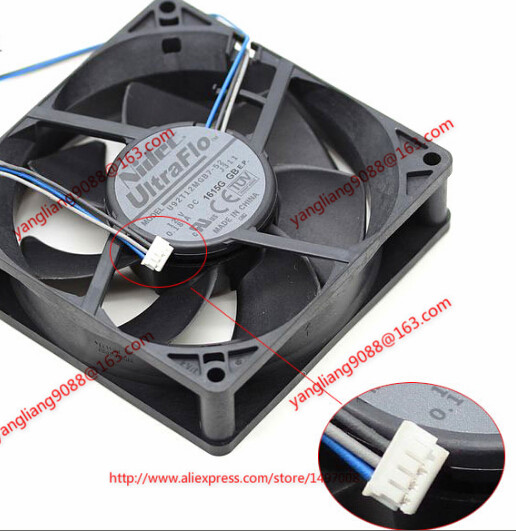 Free Shipping For Nidec U92T12MGB7-52, J311 DC 12V 0.18A 4-wire 4-Pin connector 80mm 90x90x25mm Server Square Cooling fan free shipping for nidec m35556 35del12f dc 12v 1 0a 4 wire 4 pin connector 90mm 92x92x38mm server square fan