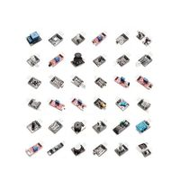 37pcs Sensor Assortment Set Replacement Accessory Tool 37 in 1 Module Sterter For arduino LED Vibration switch