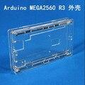 Mejor Precio Caja Transparente Brillo Acrílico Caja Transparente Cubierta de la Caja Compatible Para Arduino Mega 2560 R3 UNO diy