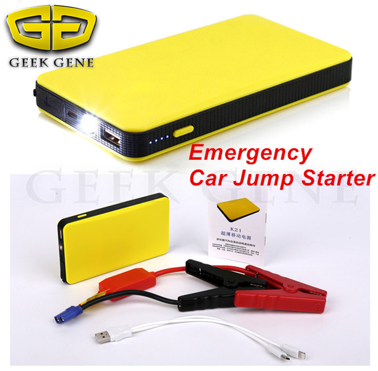 14000mAh 12V Upgraded Emergency Car Jump Starter Power Bank 300A Peak Auto Battery Charger Vehicel Starter