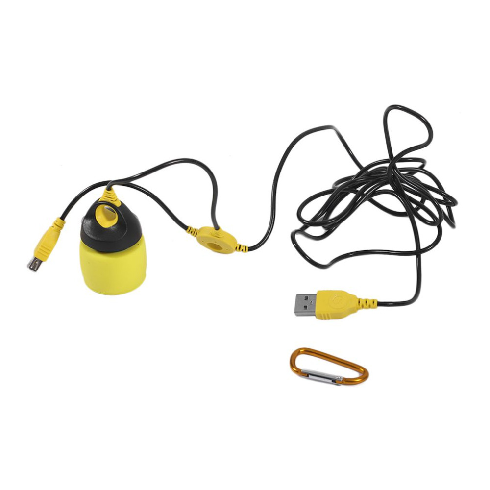 Portable Waterproof 5V 200LM USB LED Hanging Light Outdoor LED Camping Night Lights Camping Tent Lighting Emergency Bulb 4 Color