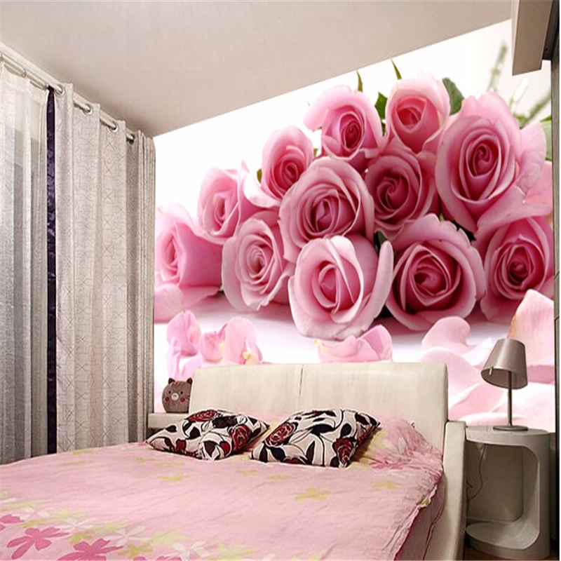 beibehang photo 3d room wallpaper for walls 3d Romantic painting ...