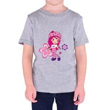 Hot slae kids's clothes woman 2017 summer season quick sleeve T-shirt Flower Girls cute princess streetwear T-shirts for boys children
