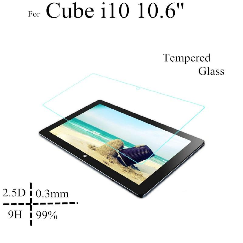 ل Cube i10 10.6 inch واقي شاشة زجاجي لـ Cube i10 10.6 '' واقي شاشة من الزجاج المقسى