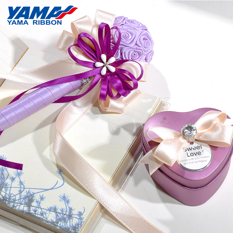 YAMA Taffeta Edge ribbon 6 9 16 22 38 mm 1 4 3 8 5 8 7 8 1 5 inch 100Yards roll Fancy Ribbons Diy Gifts Crafts Webbing Handmade in Ribbons from Home Garden