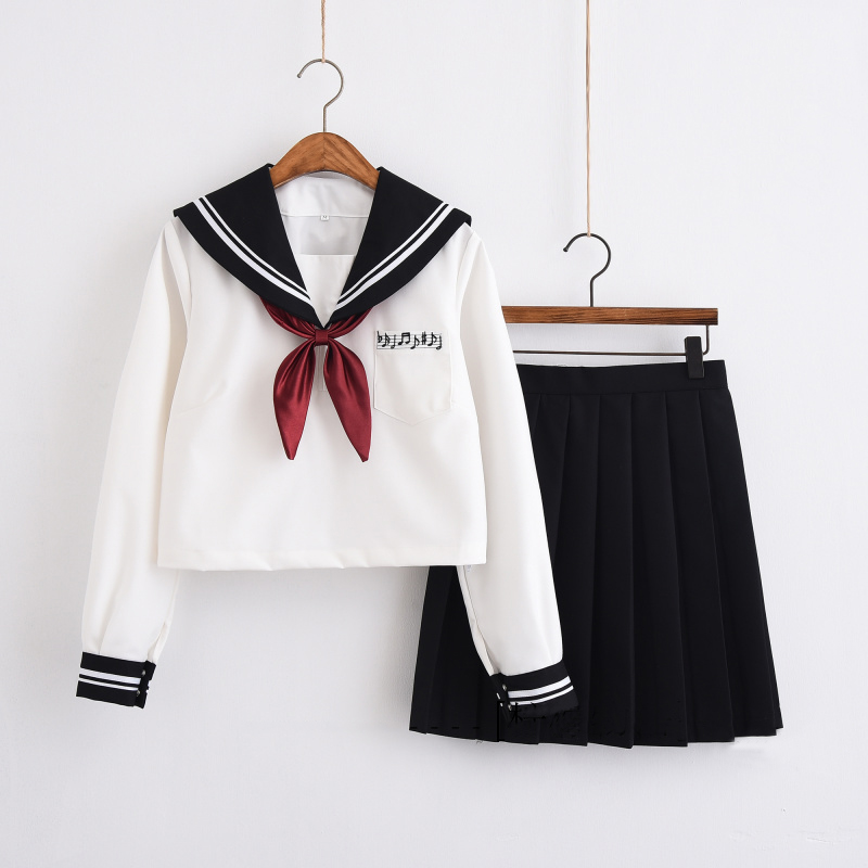 86b1679fc6 UPHYD JK Uniform For Teen Girls Sailor School Uniforms Lolita Anime Cosplay Costume  Japanese Sailor Suits -in School Uniforms from Novelty & Special Use on ...