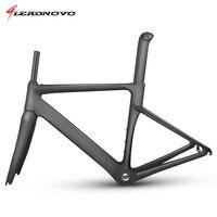LEADNOVO MTB New Carbon Fiber Road Frame Mechanical Bicycle Frame Bike Carbon Road Frame Fork Seatpost
