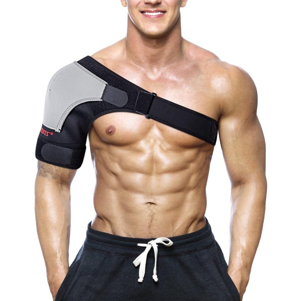 Adjustable Breathable Gym Sports Single Shoulder S...