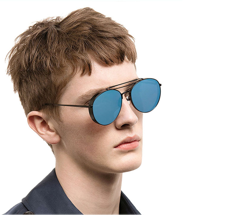 b00f91d4f3 VictoryLip Oversized Sunglasses Men Flat Top twin bridge Luxury Women Brand  Designer Cool Point UV400 Mirror Sun Glasses Male-in Sunglasses from  Apparel ...