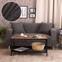 Melange knitting fabric sofa cover stretch slipcovers Elasticity Couch cover bench love seat sofa Furniture Covers chair Towel