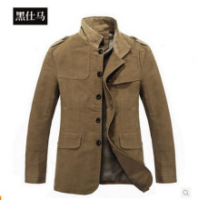 Khaki coat men jacket Slim coat man spring 2014 jacket men sportswear outdoors men coat business suit S211