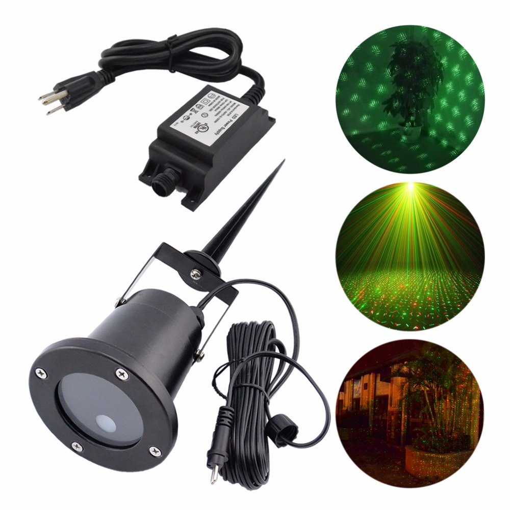 AUCD Outdoor / Indoor Green Red RG Laser Projector Lights Landscape Garden Yard Home Party Xmas Buried Lighting OD-100RG colorful c h61u v27a motherboard support for g1620 h61 hdmi colorful h61