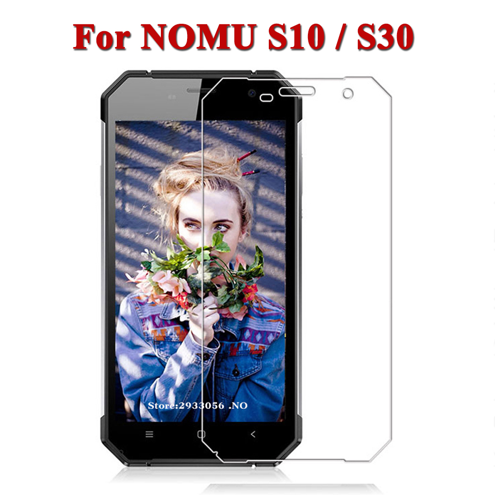 2pcs/3pcs For NOMU S10 S30 Glass 9H Premium Tempered Glass On NOMU S 10 S 30 Anti-Explosion Screen Protector Protective Film