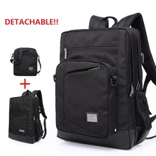 66005  New Fashion 40L Detachable Backpack Men Bag High-capacity Multi functional Waterproof Backpack