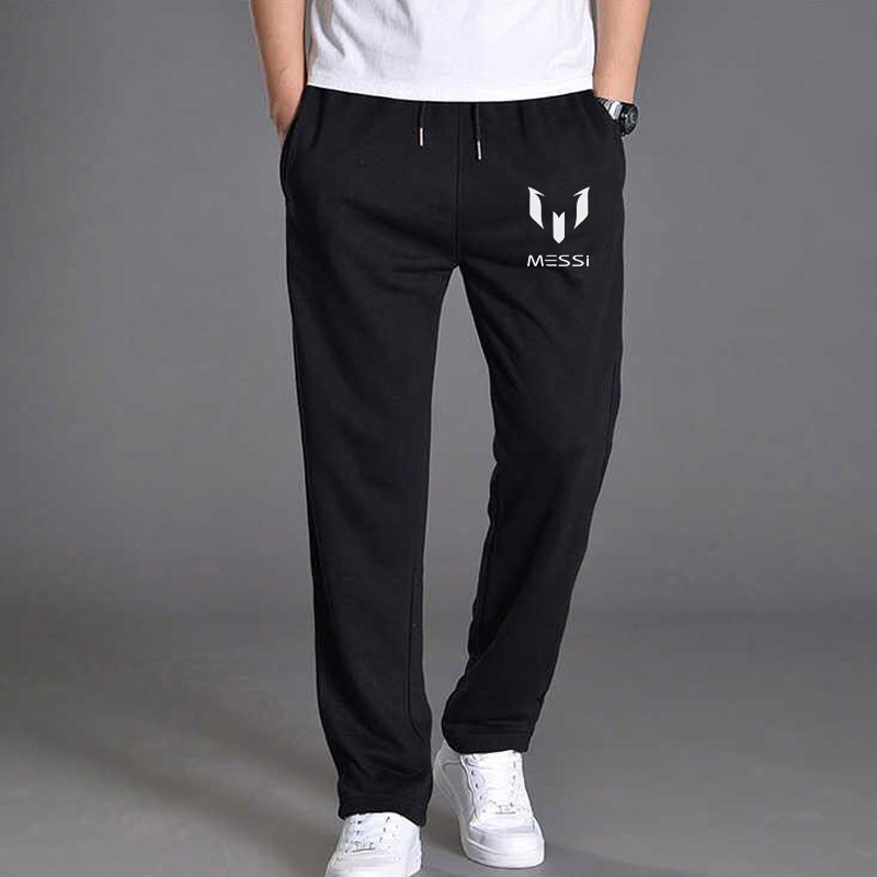 Trousers Male Joggers-Pants Messi Spring Mens Cotton Fashion New Casual Slim M-3XL