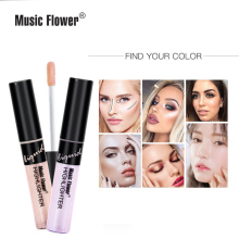 Original Music Flower Pearl Shine Liquid Highlighter Contouring Face Brightener Concealer Primer Bronze Glow Women Cosmetic