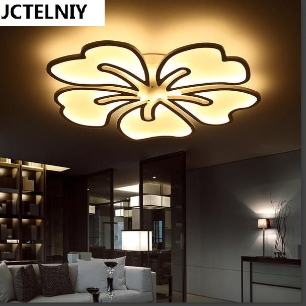 2017 new flower shape children room princess led to absorb dome light sweet bedroom lamp dimming
