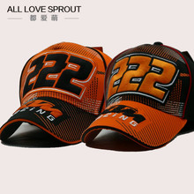 2016 Promotion Letter Adult Casual Gorras Moto Gp Motorcycle Auto Racing Team 222 Ktm Hat Cap Baseball New Bone Two Colour