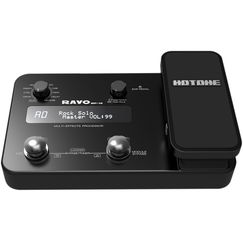 Hotone Ravo Guitar Multi Effects Processor MP-10 wavelets processor