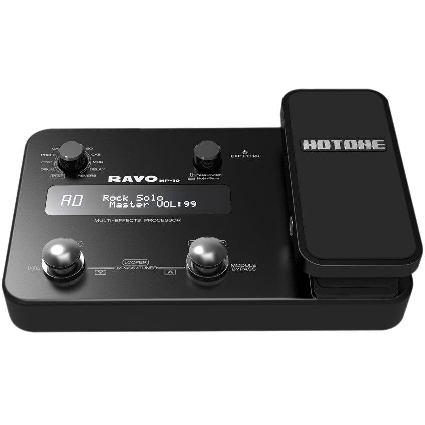 Hotone Ravo Guitar Multi Effects Processor / USB Audio Interface wavelets processor
