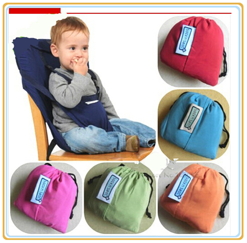 portable high chair booster revolving description baby infant seat dining safety belt feeding harness carrier 5 point cushion