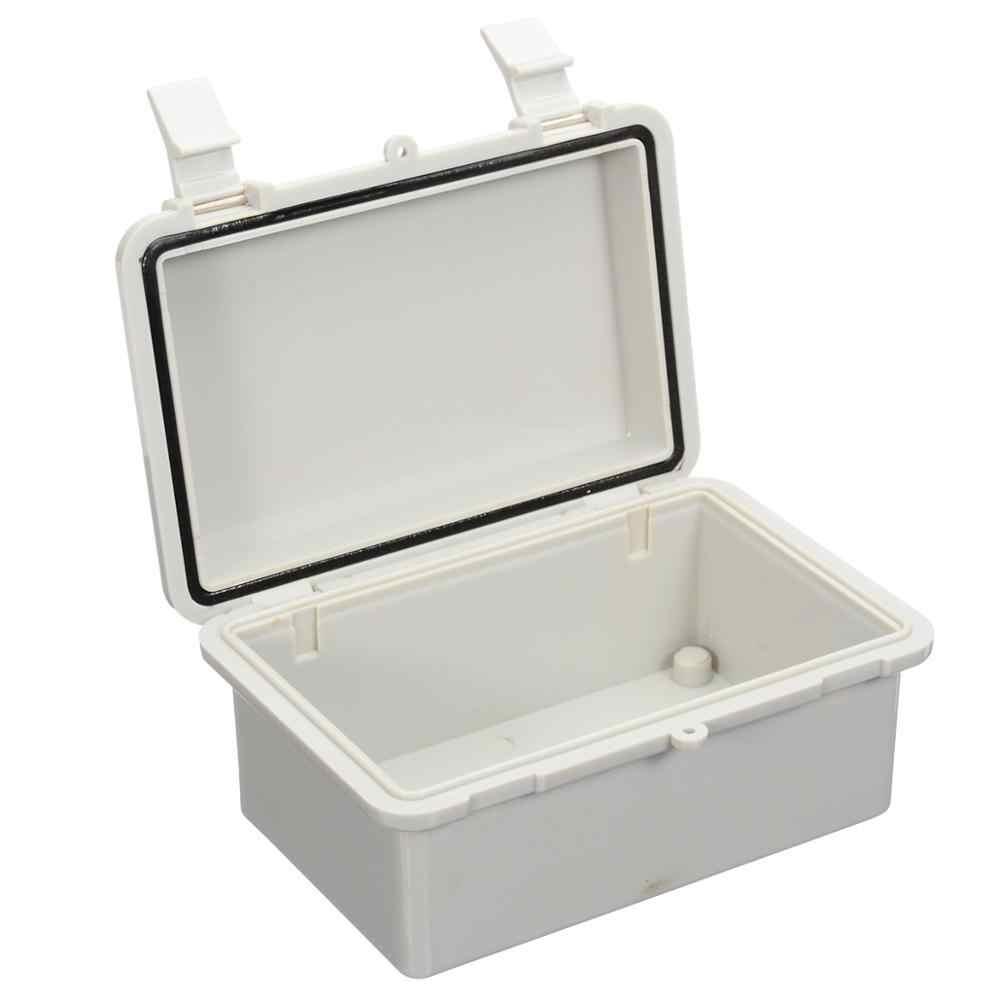 Новый Водонепроницаемый IP65 ABS корпус блока управления пыле электронная распределительная коробка серовато-белый кабельного телевидения Mayitr