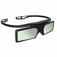 2pcs Packs Cheap Hony 3D Active Shutter Bluetooth Glasses for Sony LG Samsung Panasonic 3D TVs