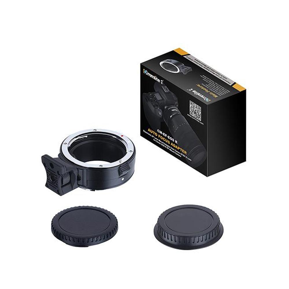 Commlite adaptateur de monture d'objectif AF électronique pour Canon EF-EOS R de l'objectif EF/EF-S à la mise au point automatique de l'appareil photo plein format EOS R RF - 3