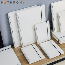лучшая цена Hethrone A5 A6 Loose Leaf Notebook Spiral Binder DOT Blank Grid Paper Weekly plan Paper Stationery For School Office Notepad