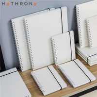 Hethrone A5 A6 Loose Leaf Notebook Spiral Binder DOT Blank Grid Paper Weekly plan Paper Stationery For School Office Notepad