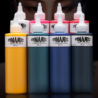1 bottle Permanent Makeup 8oz Dynamic Tattoo Ink for Tattoo Kit Tattoo Pigment For Body Art Tattoo Painting Cosmetics 250ml Inks