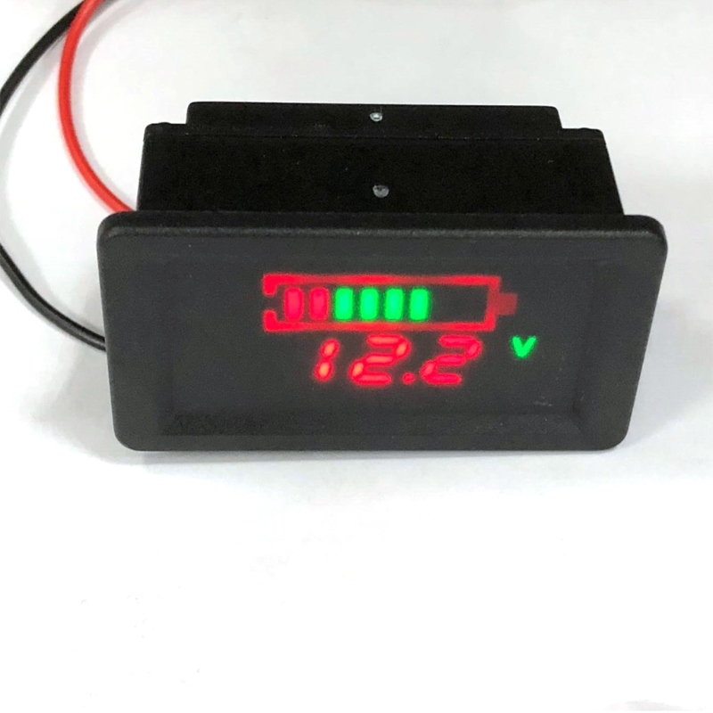 Waterproof 12V Lead-Acid Battery Status Capacity LED Display Indicator Voltmeter L15 td05 factory direct sales 12v24v36v48v lead acid battery capacity display professional capacity indicator
