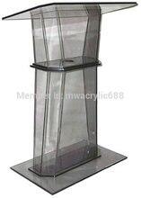 Free Shipping Simple Elegant Acrylic Podium Pulpit Lectern podium
