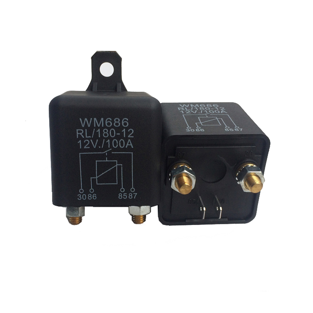 Instrument Parts & Accessories 1 Pcs 12vdc Heavy High Current Start Relay 100a Amp 2.4w 4 Pins Car Auto Automotive On Off Start Relay Switch For Large Motor 50% OFF Tools