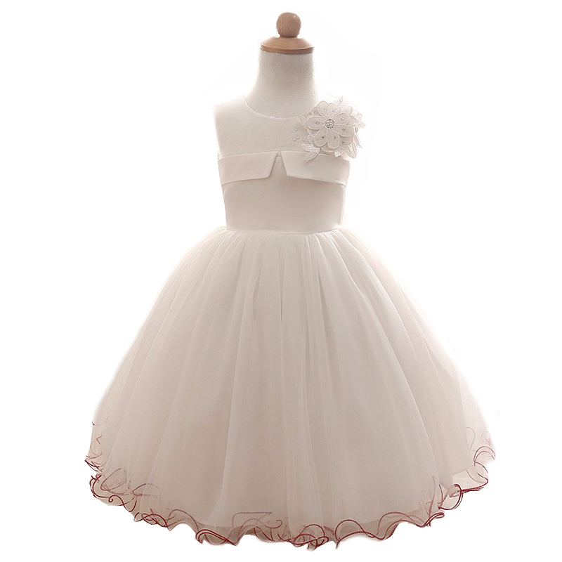 New Born Baby Girl Dress White Dresses 1 Year Old baby Dresses Princess Summer Dress Vestido Infantil Bebe Verao blanco