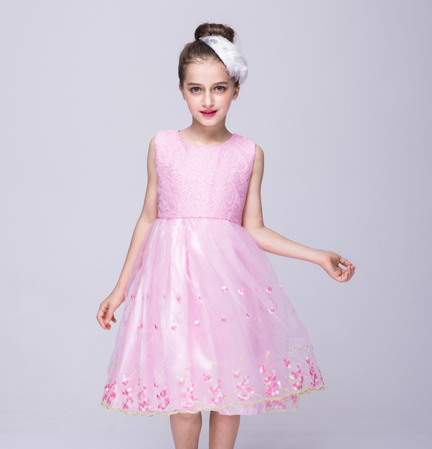 e96ec6757a99 Baby Embroidered Formal Christmas Princess Dress for Girl Elegant Birthday  Party Dress Girl Dress Baby Girl wedding Clothes