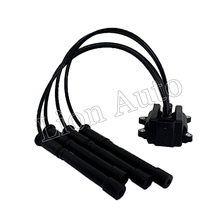 For Pegeot Renault Clio Ii 1.2 2001 Ignition Coil Pack Spark Plug Leads 8200051128/8200025256/8200084401/22448-00QAD/597083 for pegeot renault clio ii 1 2 2001 ignition coil pack spark plug leads 8200051128 8200025256 8200084401 22448 00qad 597083