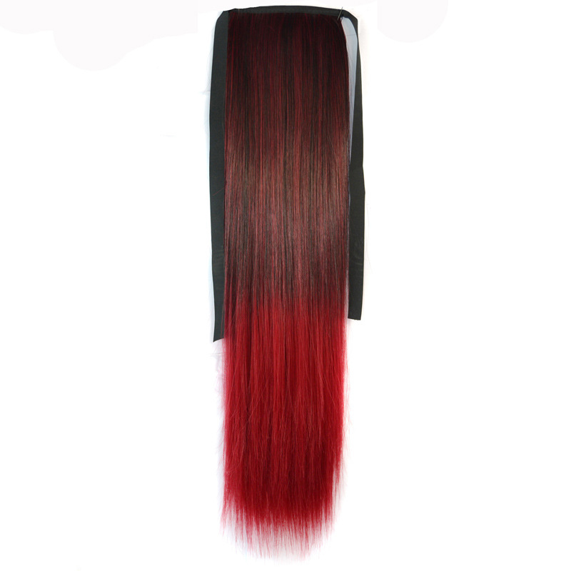 New arrival hairwear 95g 55cm synthetic hair accessories extension straight hair jewelry for womens bundled ponytail