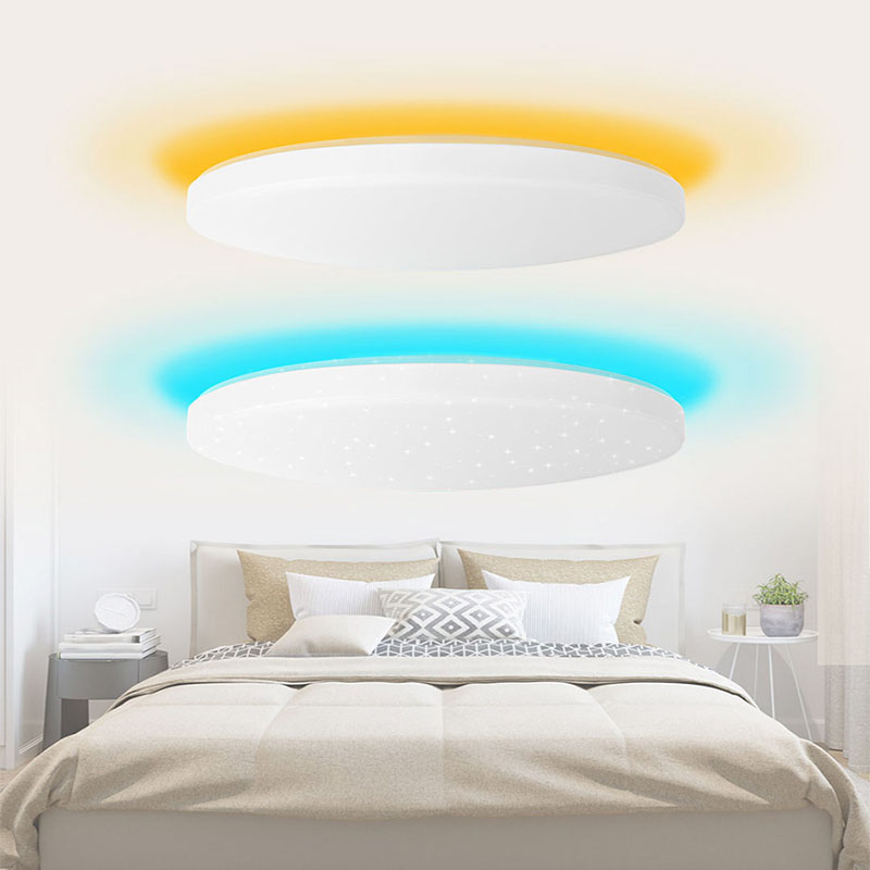 Image 5 - Xiaomi Yeelight Led ceiling Pro 650mm RGB 50W Mi home app control Google home For amazon Echo For xiaomi smart home kits-in Smart Remote Control from Consumer Electronics
