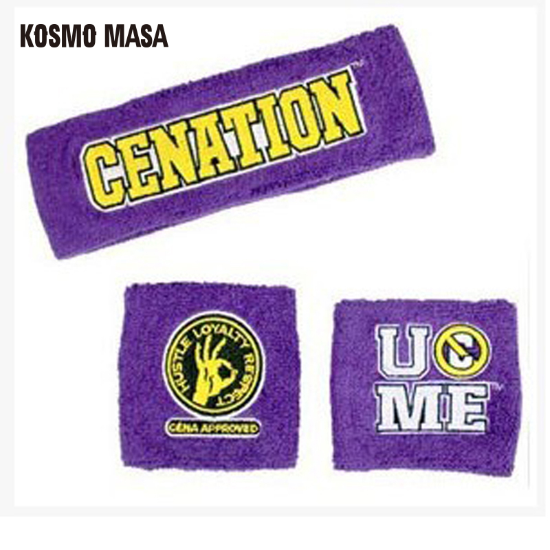 Wrestling Cotton Cena Arm Warmers 1 Piece Retail AW0001
