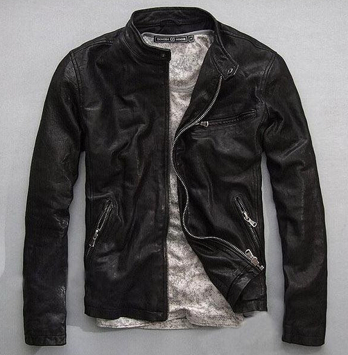 Aliexpress.com : Buy Factory Men Leather Jackets Genuine Real