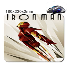 HOT SALES Custom Antiskid 3 D Iron Man 220 X180x2mm Office Accessory Tablet And Mini PC Mouse Pad As Gift