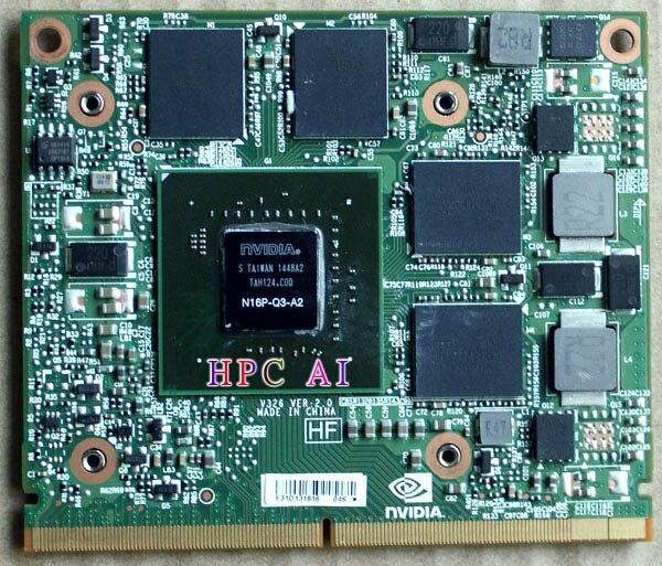 New Quadro M2000M MXM3 notebook graphics card 1 year warranty