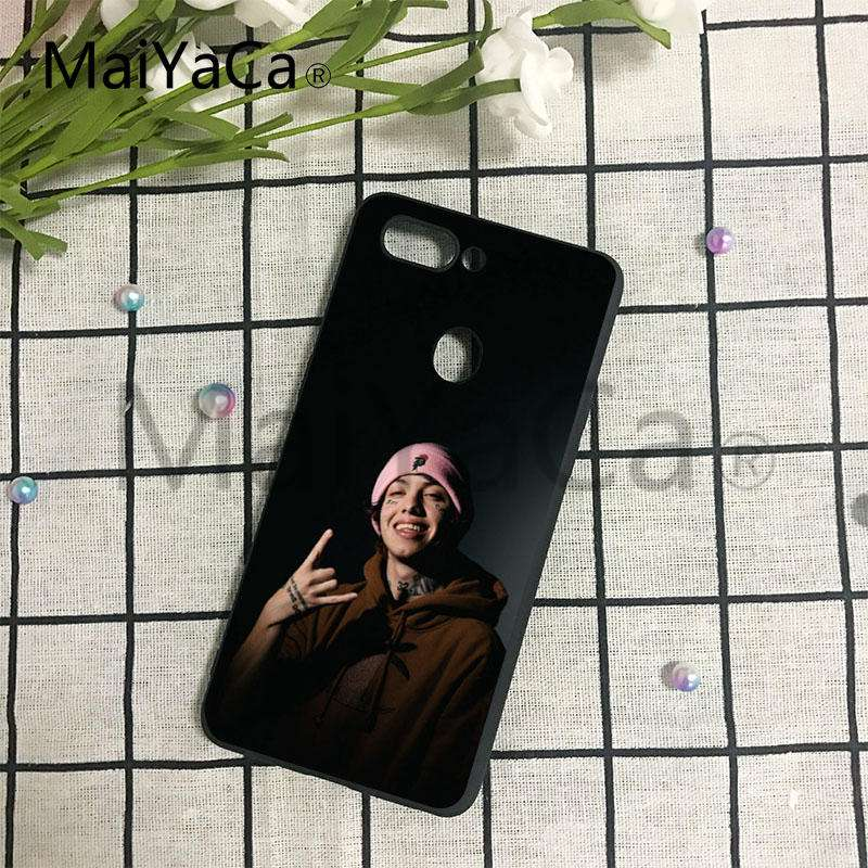 maiyaca 6ix9ine lil xan rapper high quality classic phone accessories for huawei p6 p7 p8 p9 p10 mobile phone case in half wrapped case from cellphones