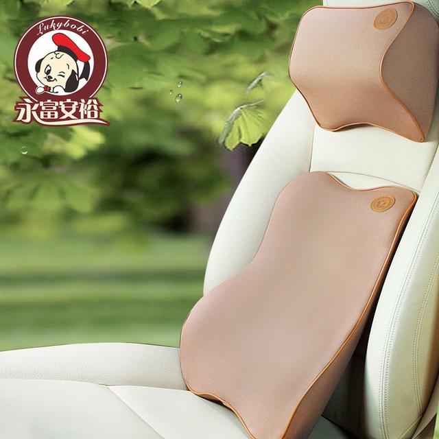 Automobile Waist Back Memory Cotton Head Pillow Waist By Suit