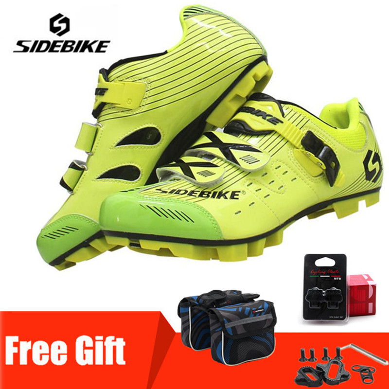 Sidebike MTB Cycling Shoes 2019 Mountain Bike Self-Locking Ride Bicycle Shoes Professional Athletic Sports Lightweight ShoesSidebike MTB Cycling Shoes 2019 Mountain Bike Self-Locking Ride Bicycle Shoes Professional Athletic Sports Lightweight Shoes