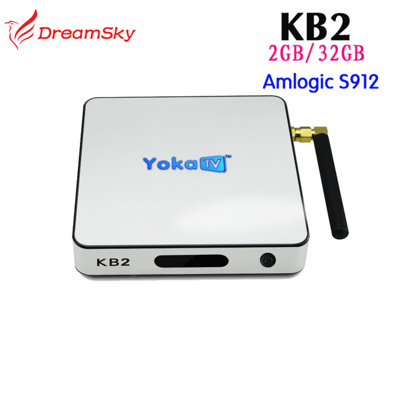 ФОТО 5pcs/lot Amlogic S912 Octa Core Android TV Box KB2 support 2GB/32GB 2.4G/5GHz Dual WIFI BT4.0 KODI 17.0 4K smart mini pc